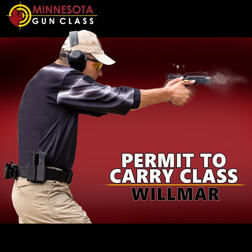 Facebook ad design for Permit to Carry Class - contest 3