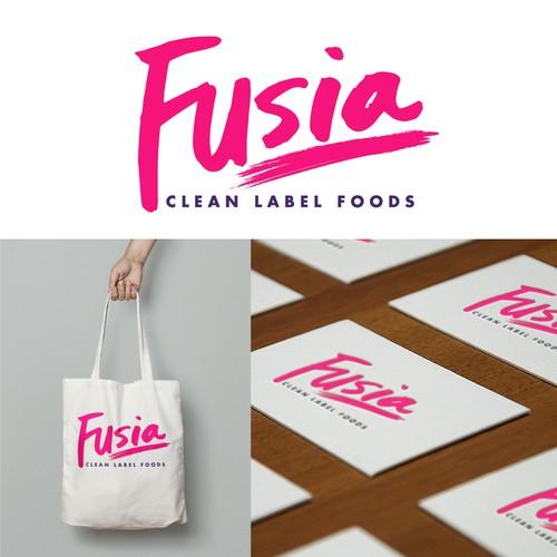 Fusia Brand Identity