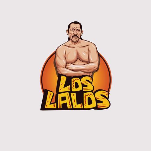 bold logo concept for LOS LALOS