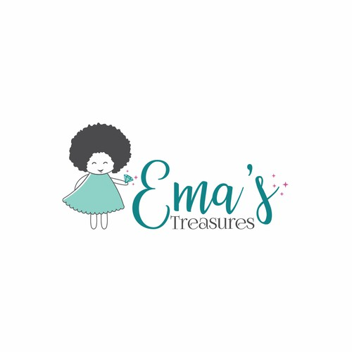 Logo for baby care products