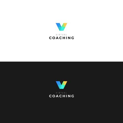 Vibrant logo for virtual coaching