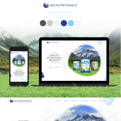 Home Page Concept