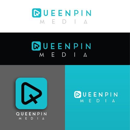 QueenPin Media Logo & Brand Identity Pack - 2