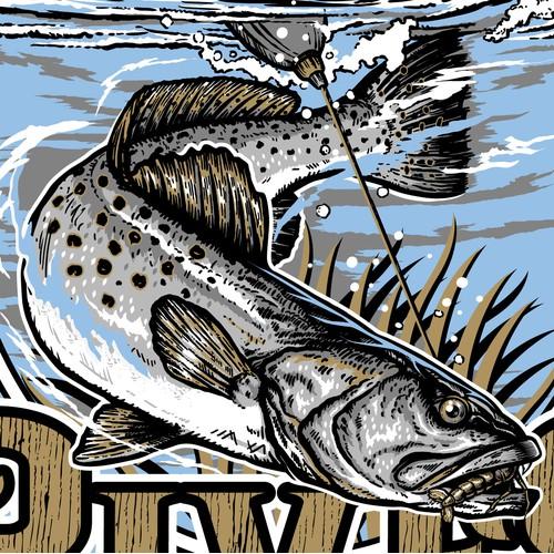 T_shirt Design for Altamaha River