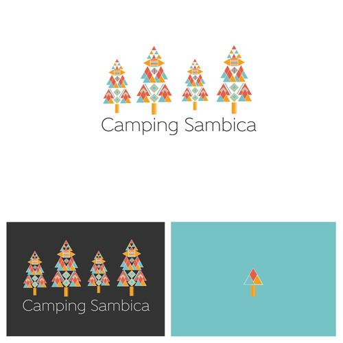 Camping Sambica T-shirt Design