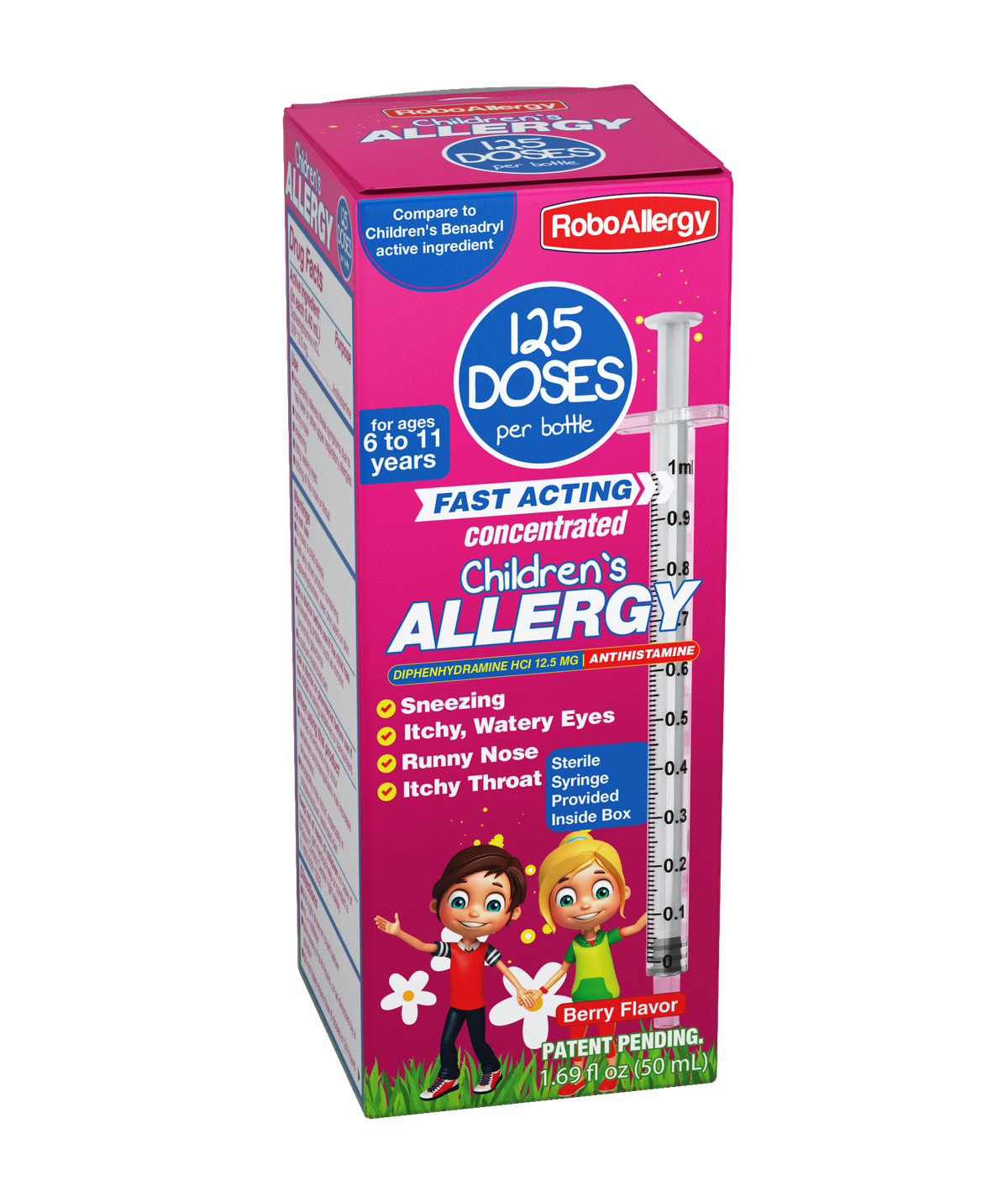 New designs for Allergy Box and bottle