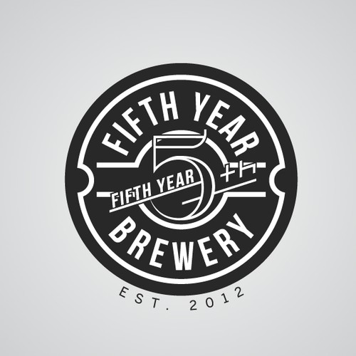 Fifth year brewery