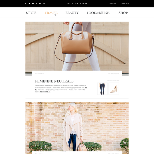 Custom WordPress Theme Needed For Luxury Style/Travel Blog