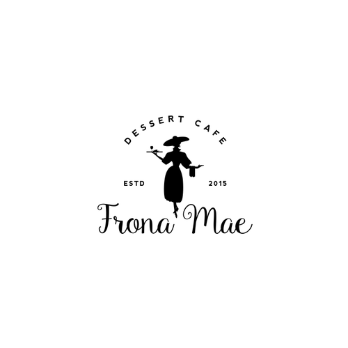 Classy logo for Frona Mae