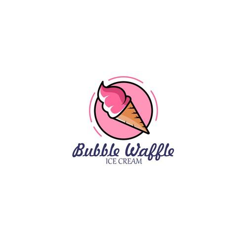 Bubble Waffle Ice Cream