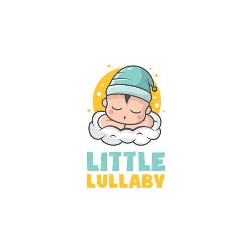 Sleepy baby for baby product company