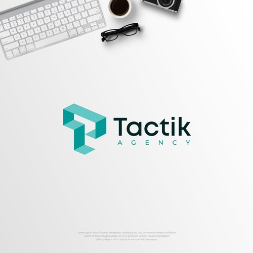 Logo concept for Tactik Agency