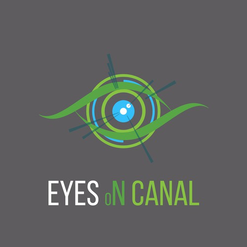 Eyes on Canal - Logo design
