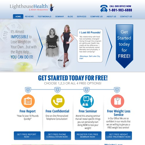 Create a Weight Loss Website