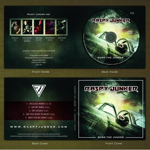 Raspy Junker album cover - Bord the Junker