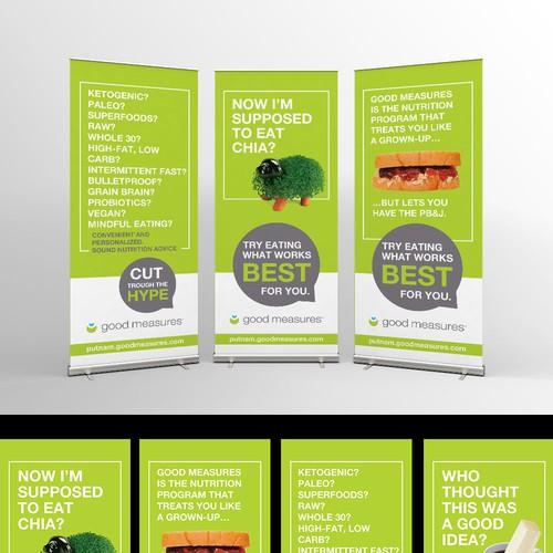 Banners for Wellness Program