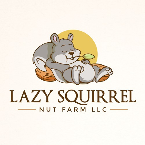 Logo for Lazy Squirrel