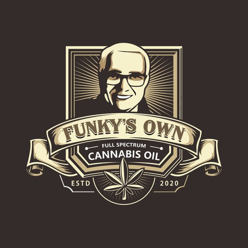 Classic Emblem Logo Cannabis Oil