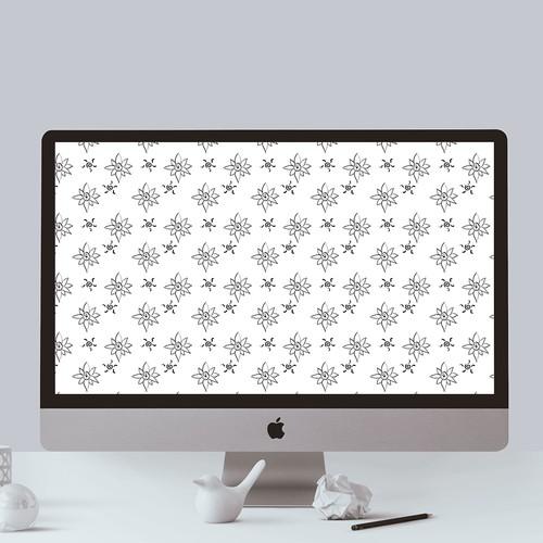 Edelweiss background design