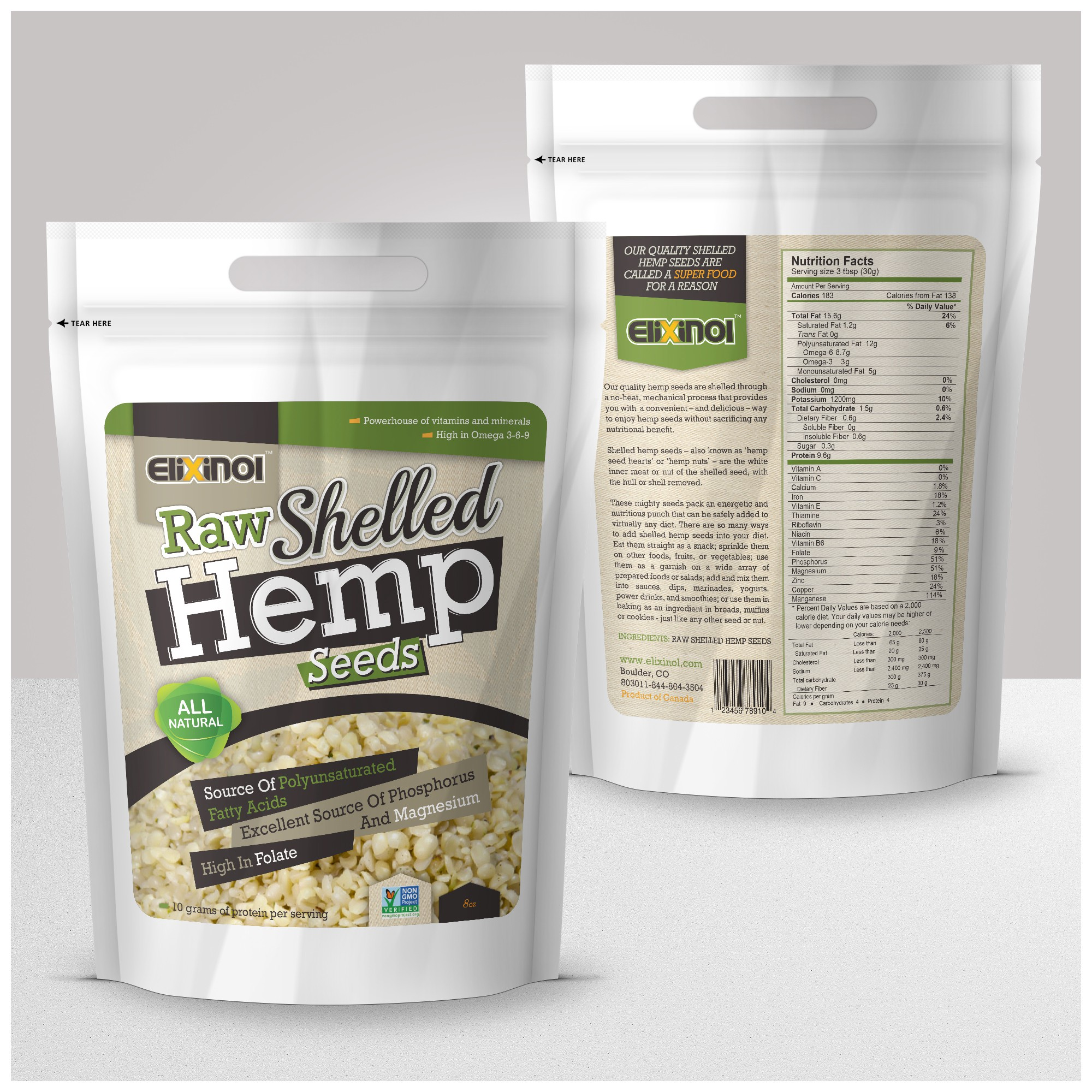 Hemp is the future  - design for an up and coming company with expansion underway.