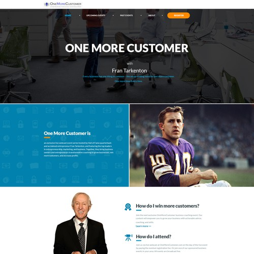 One More Customer website