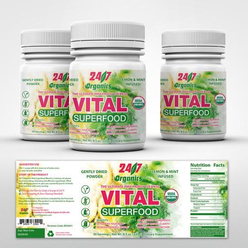 Vital organics 24/7