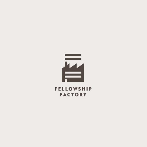 Logo concept for 'Fellowship Factory'