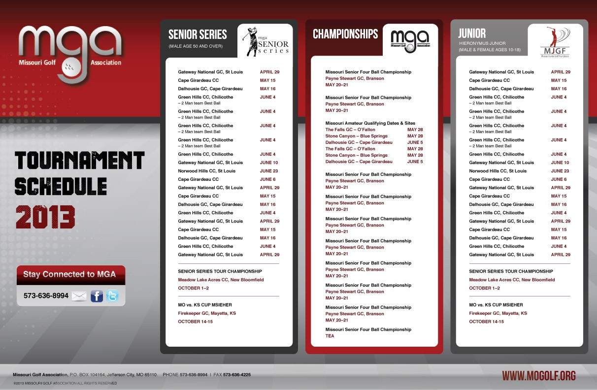 advertising wanted for Missouri Golf Association