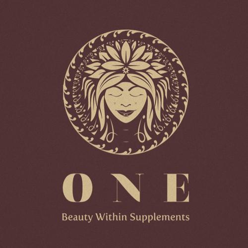 Organic Emblem Logo