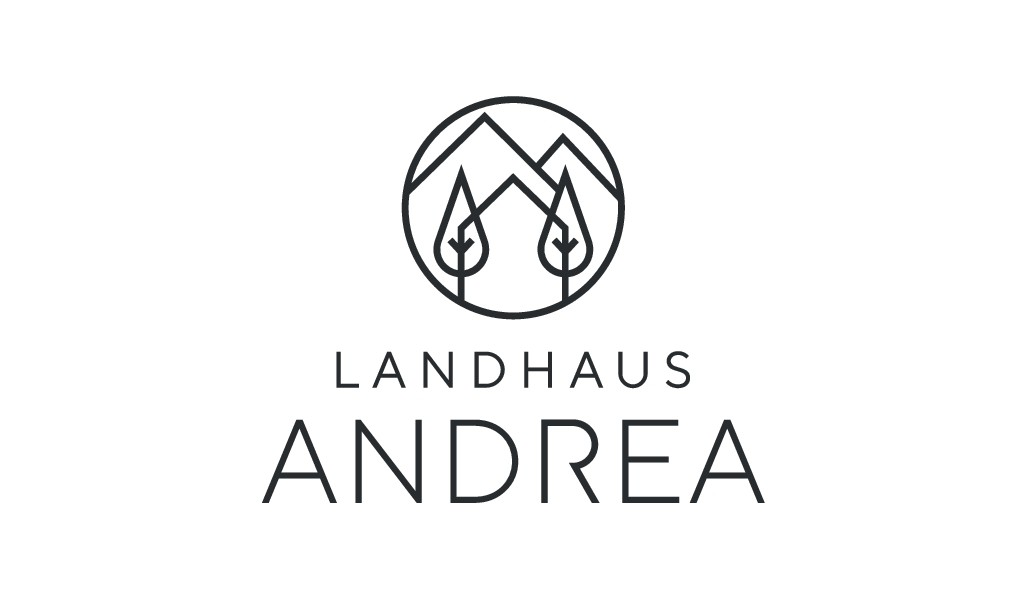 We need a new logo for a modern apartment business in Saalbach