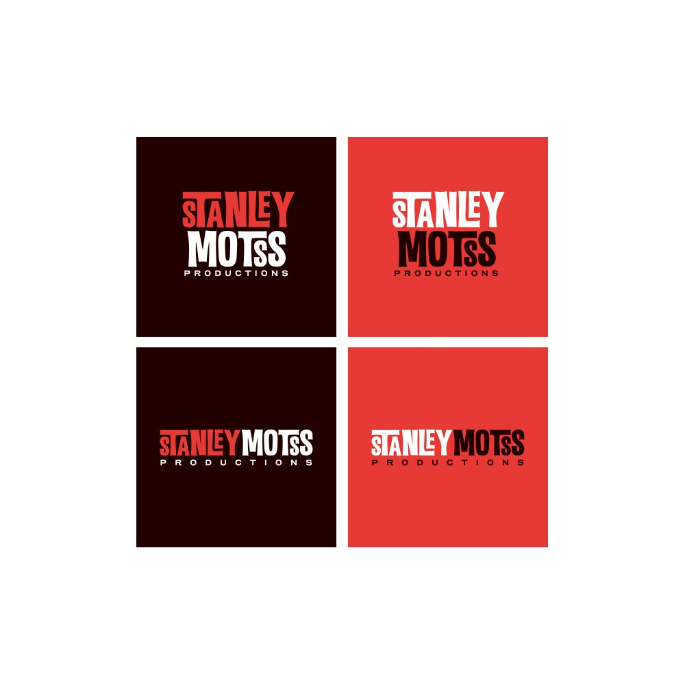 Logo for a new film production company called STANLEY MOTSS