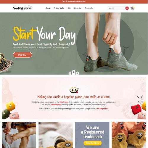 Custom Shopify Website for Online Shopping Site