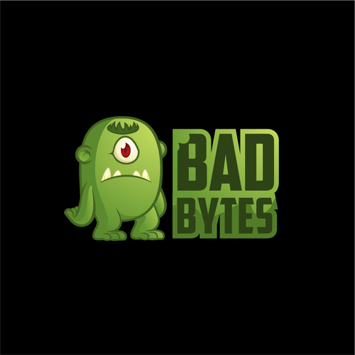 Logo Design For a Company Named Bad Bytes
