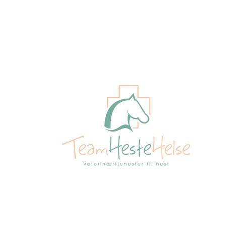Logo for horse veterinarian