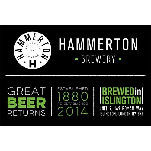 Hammerton Brewery Banner