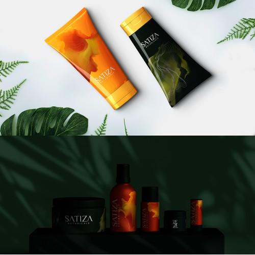 Cosmetic Logo & Packaging Design