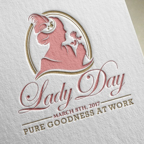 Beautiful and Classy Lady Day Logo