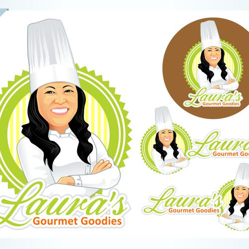 logo for Laura's Gourmet Goodies
