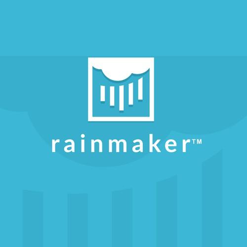 "Logo and Website ""rainmaker"""