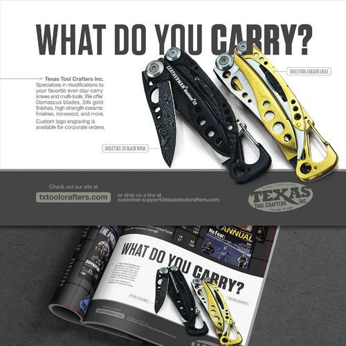Winner ad for Nascar Magazine