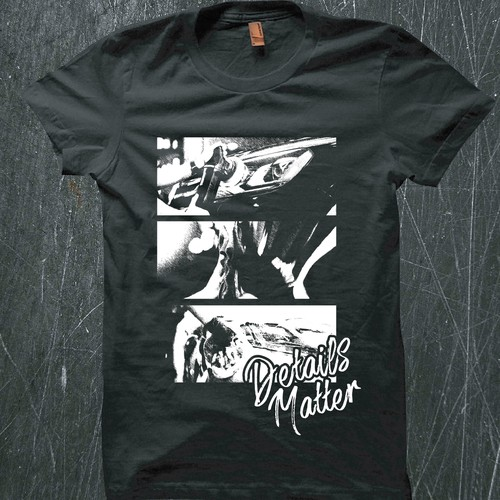 T-shirt Concept for Car Detailing Company
