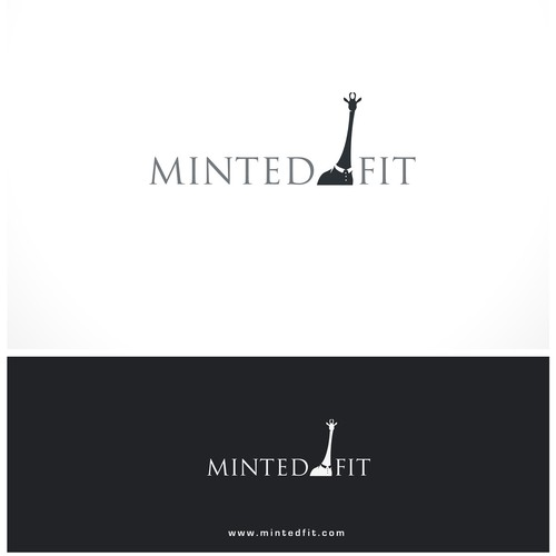 A fun & modern logo for Minted Fit (men's custom tailored button down shirts)