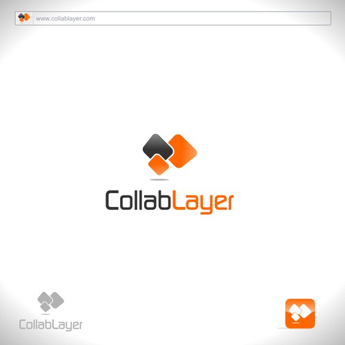 Logo for CollabLayer. Real-time collaboration, Post-PC style.