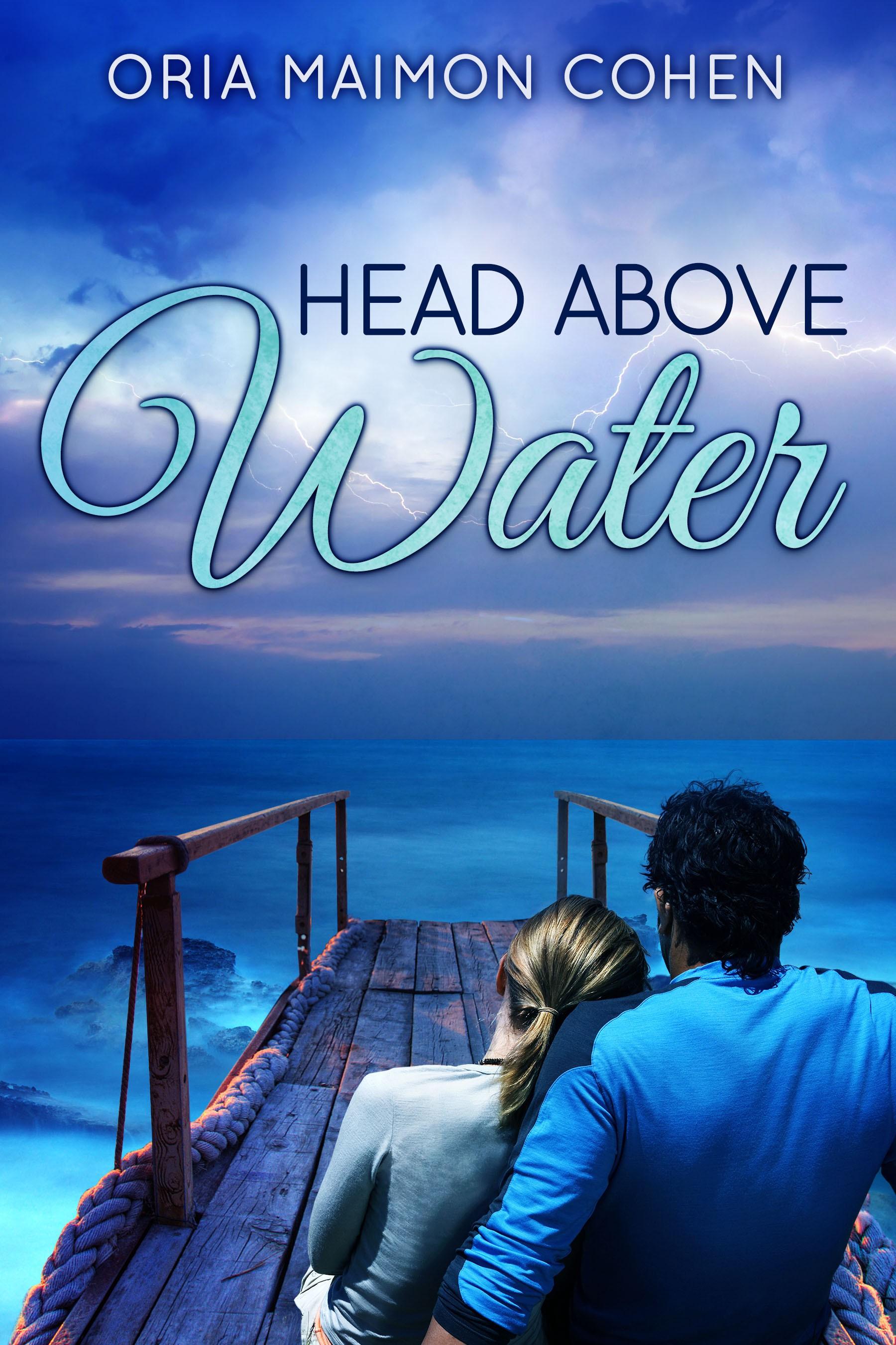 Book cover design - Head Above Water - Oria Maimon Cohen
