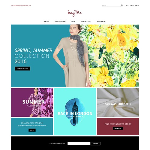 Web Design for KayMe