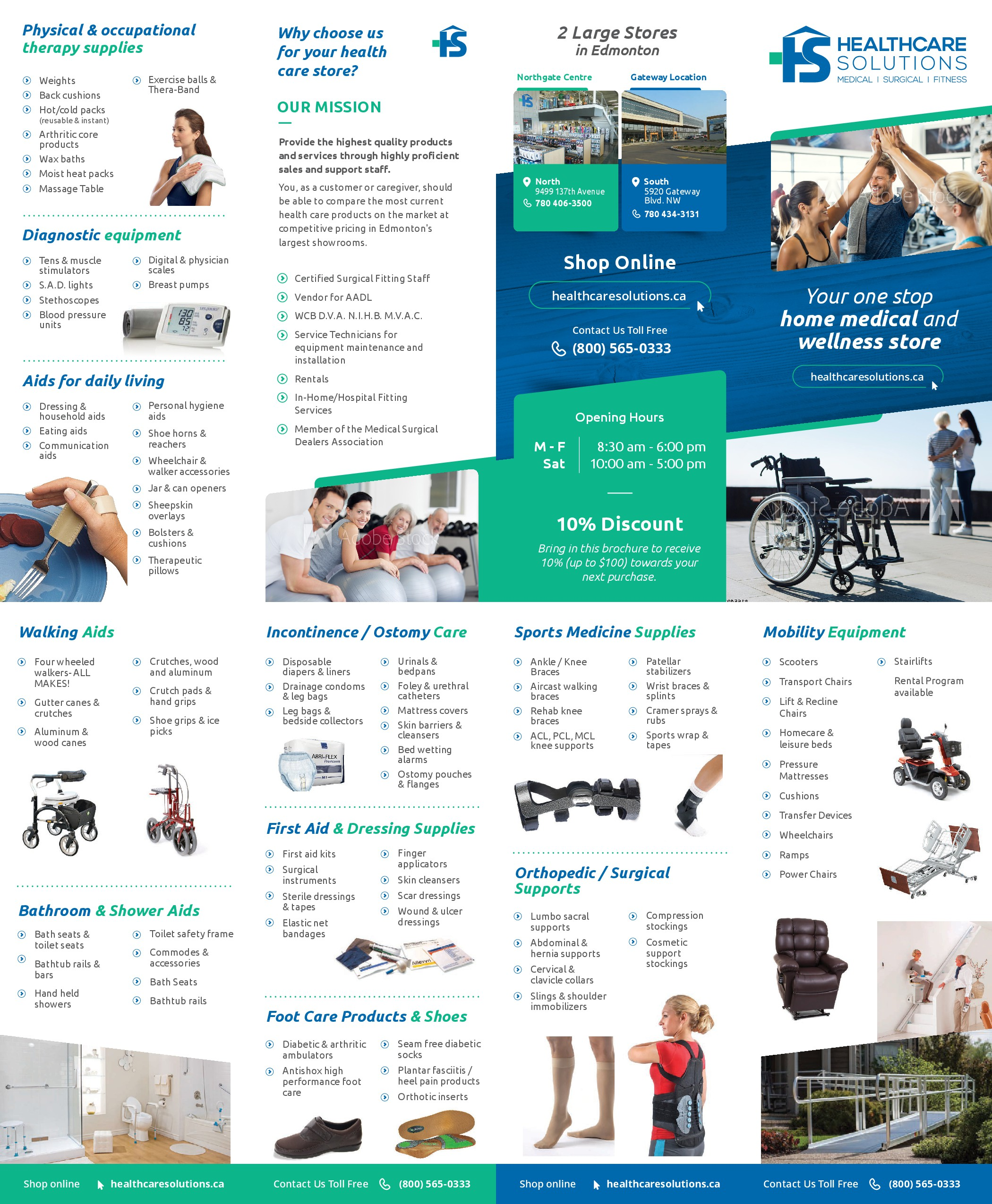 Healthcare Solutions - Design NEW Brochure