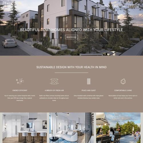 The Linden - Website Design Refresh