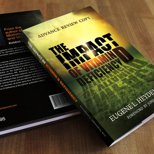Createa dynamic book cover for The Impact of Vitamin D Deficiency