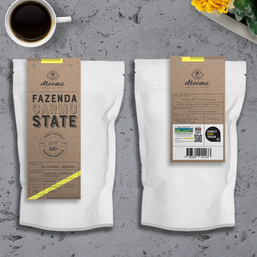 premium quality coffee packaging