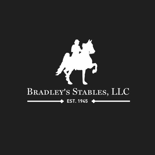 A logo revival concept for a traditional stable company.